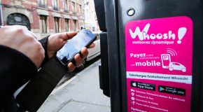 Strasbourg propose Whoosh, une application pour payer son stationnement depuis son smartphone