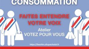 «Voter pour vous»: l'UFC-Que Choisir du Bas-Rhin invite au débat lundi 12 juin!