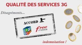 Qualité de service mobile Accord UFC-Que Choisir – Free Mobile