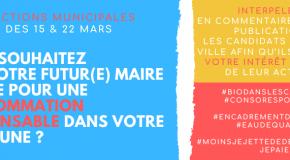 Actions municipales 2020 : résultats