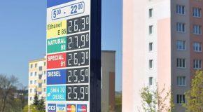 «Retrouvez les prix des carburants près de chez vous»