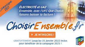 Campagne «Energie moins chère ensemble» : dernière actualité